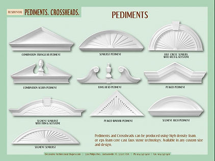 RESIDENTIAL Pediments Crossheads a