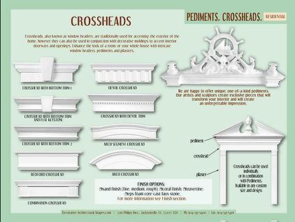 RESIDENTIAL Pediments Crossheads b