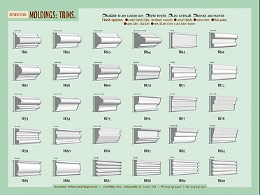 RESIDENTIAL moldings Trims 2a