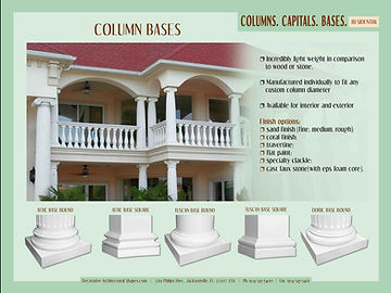 RESIDENTIAL Capitals Bases b
