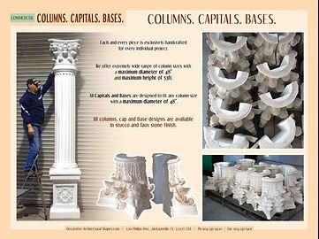 COMMERCIAL columns capitals bases 1