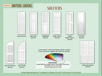 RESIDENTIAL Sutters Louvers a