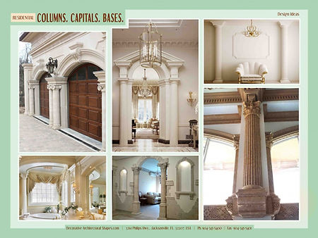 RESIDENTIAL Columns Capitals Bases gallery