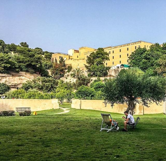 Orto dei Cappuccini, burbuja de paz. Fuente: IG @alecani
