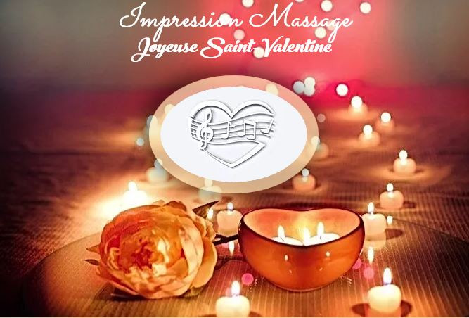 L'Offre Saint-Valentin Impression-Massage, Val d'Oise, 95, 78, Conflans, Herblay, Pontoise, Cergy,