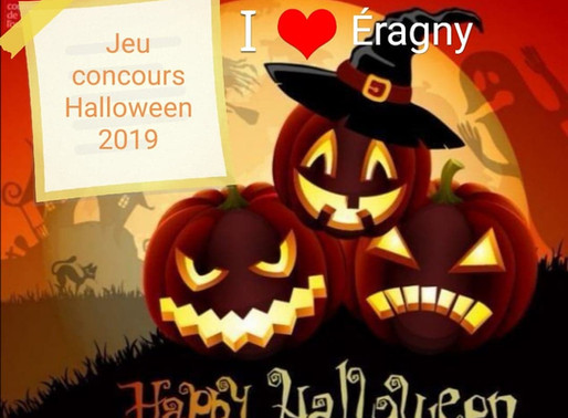 Jeu concours Halloween Octobre 2019