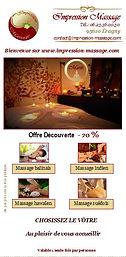 Offre découverte -20 réduction sur impression massage le voyage de sens le massage bien-être éragny su oise, 95, massage val d'oise, massage 95, massage 78, massage yvelines