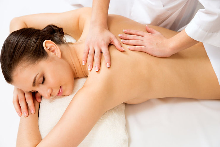 massage dos, impression massage, massage découverte du dos
