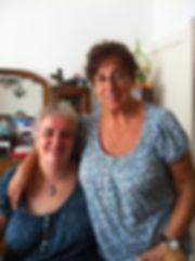 Geneviève et Sylvie, mère et fille