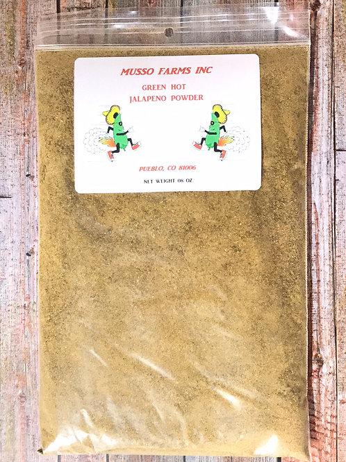 Green HOT Jalapeño Powder