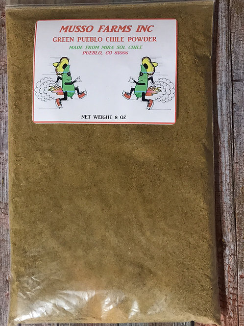 Green Pueblo Chile Powder