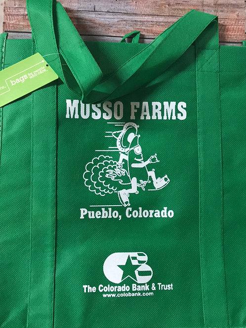 Musso Farms Reusable Shopping Bag