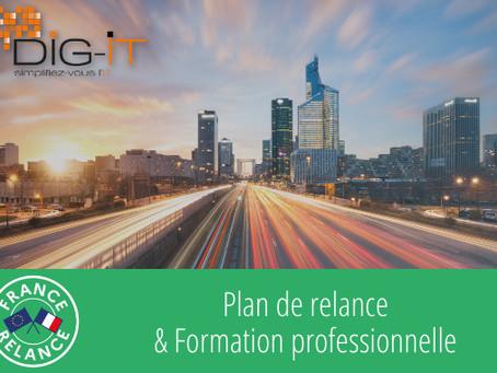Plan de relance et formation professionnelle