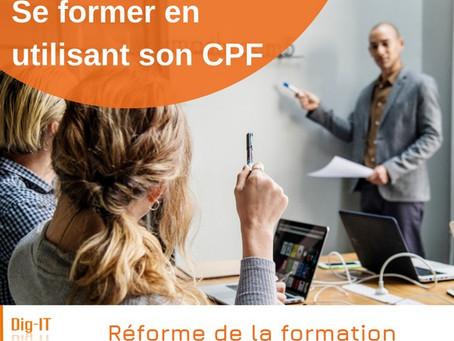 Se former en utilisant son Compte Personnel de Formation (CPF)