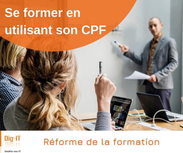 Se former en utilisant son compte personnel de formation CPF