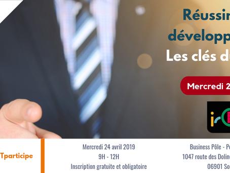 Dig-IT témoin du parcours «Développer l'entreprise» de l'IRCE
