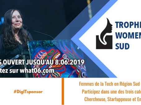 Trophées Women in Tech Sud : promouvoir le rôle des femmes dans la Tech