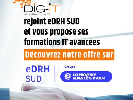 eDRH Sud Formation : Dig-IT partenaire