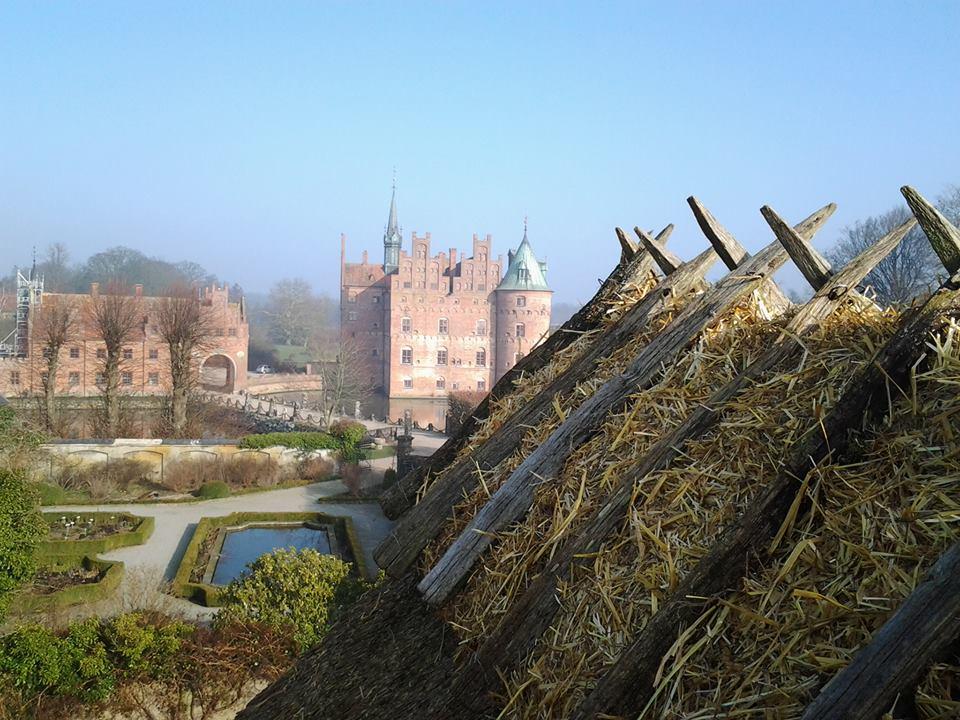 Skøn udsigt - Stråtag Egeskov Slot