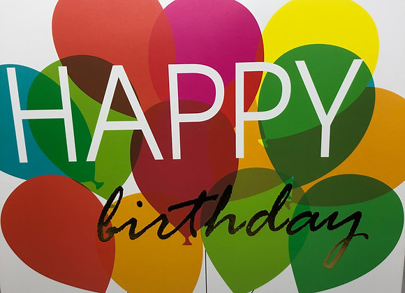 "Sac ""Happy Birthday"""