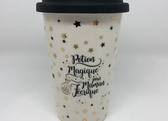 "Mug Take Away ""Maman Féérique"""