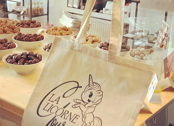 """Tote bag """"La Licorne Gourmande"""""""