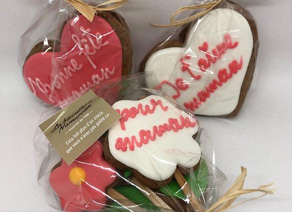 """Biscuits artisanaux """"Fête des mamans"""""""