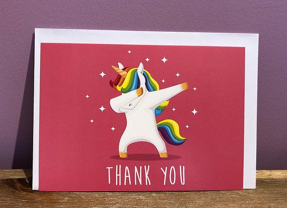 """Carte """"Thank You"""""""