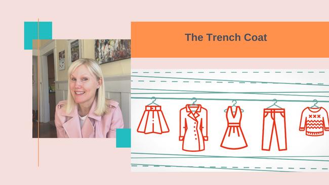 Closet Staple:  The Trench Coat