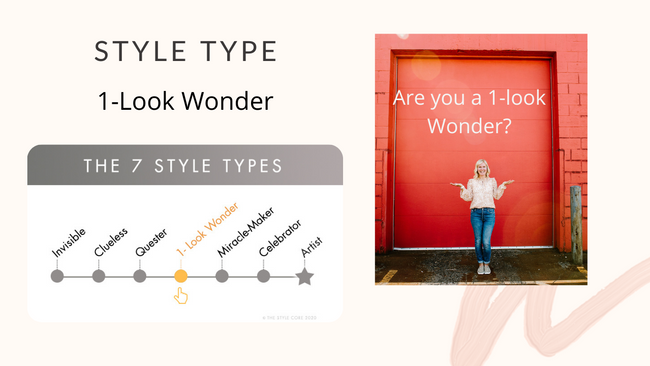 Are you a 1-look Wonder?