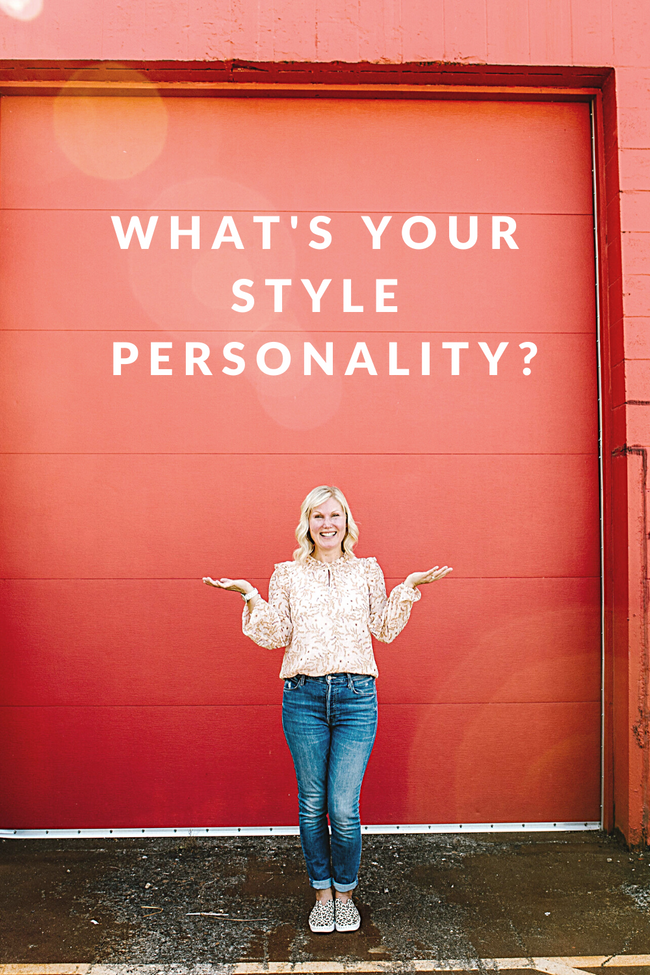 Figuring Out Your Style Personality
