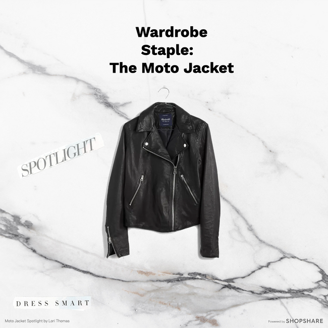 How to style:  The Moto Jacket