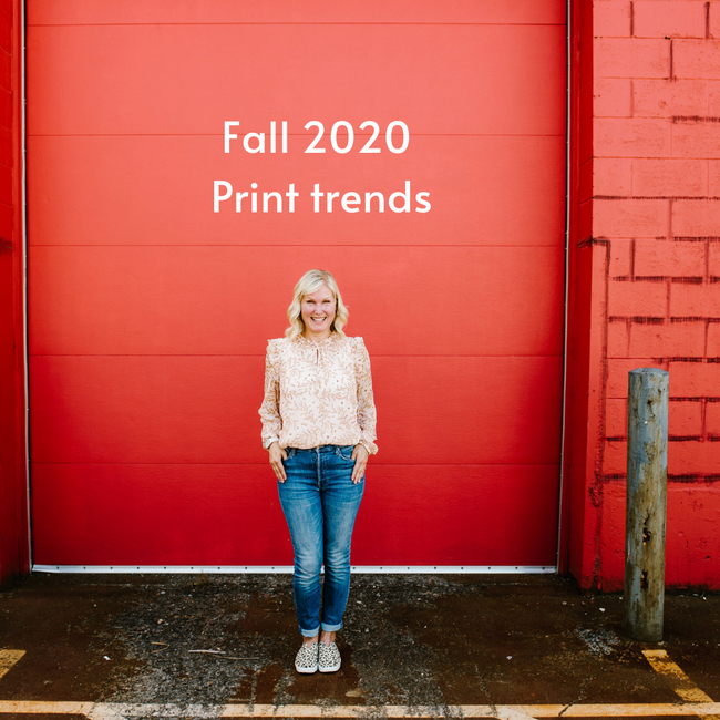Fall 2020 - Print Trends