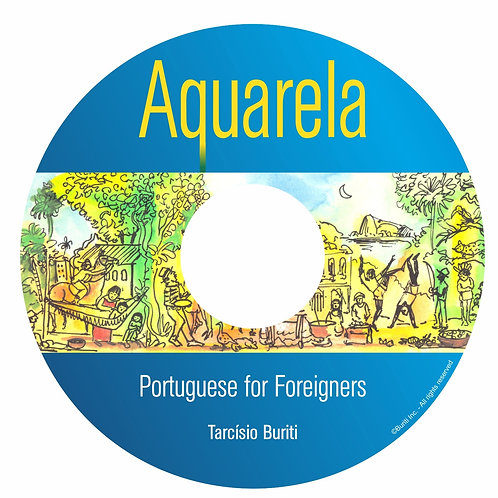 Aquarela: AUDIO CD (only)