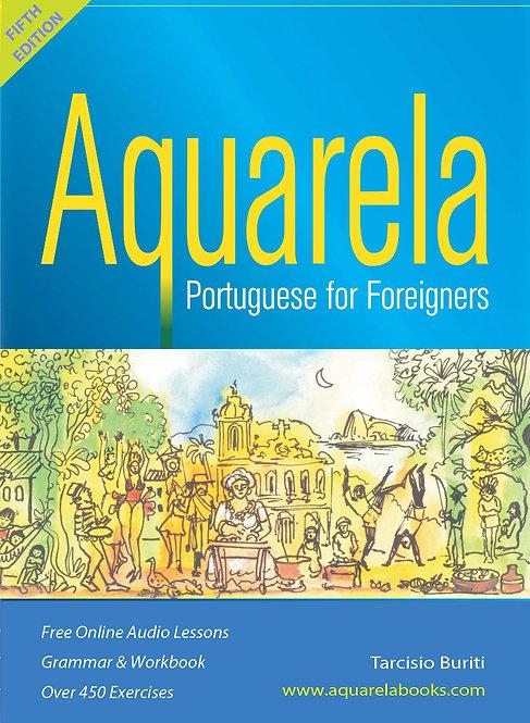 Aquarela: Portuguese for Foreigners - 5th Edition 2020