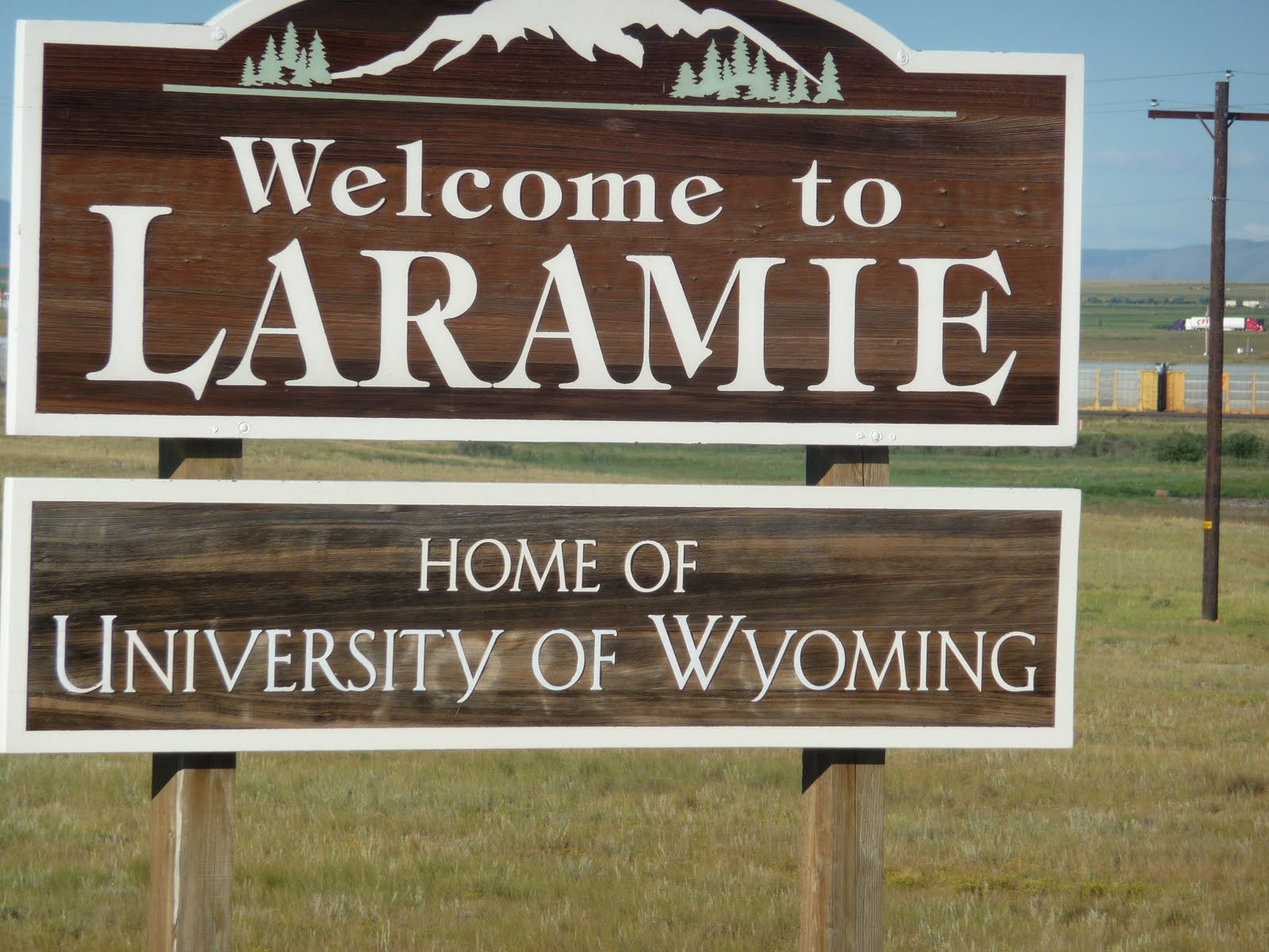 LARAMIE -WELCOME TO