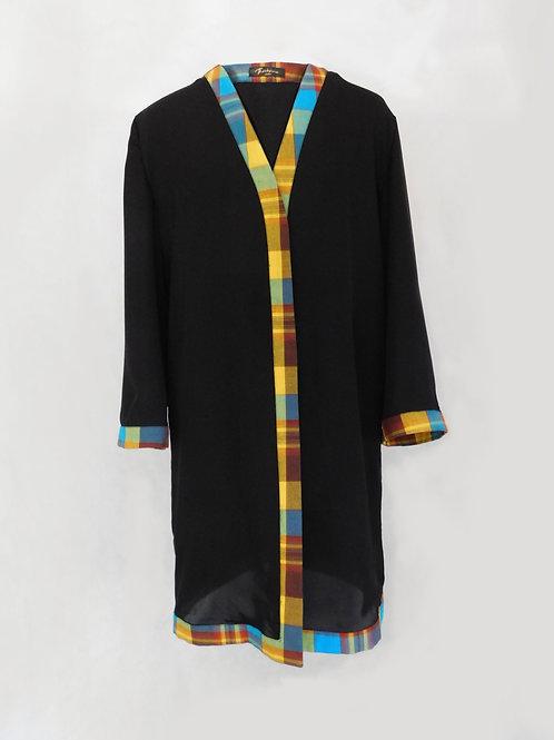 Kimono semi-transparent