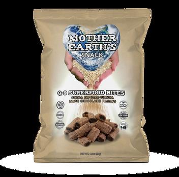 Q-9 SuperFood Cocoa Quinoa Bites with Dark Chocolate