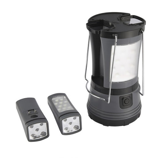 LED Lantern with 2 Torches