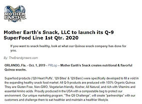 News article Mother Earths Snack.JPG
