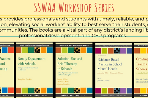SSWAA Workshop Series - 13 books