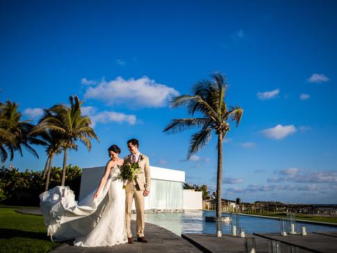 Fotografía de boda en 7.17 en Acapulco