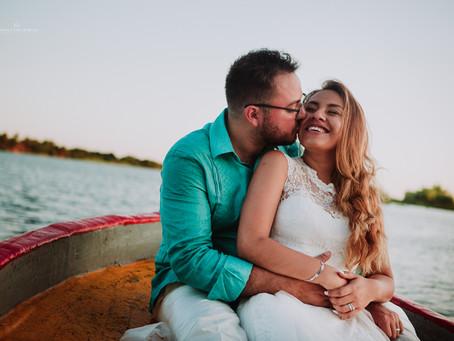 FABI + KARIM - Wedding & Trash the dress
