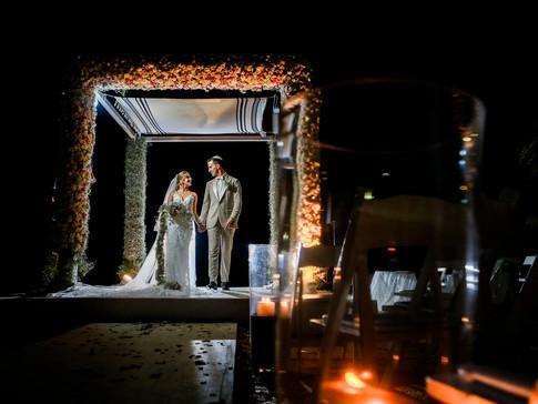 Fotografía de boda en Casa del Mar en Acapulco