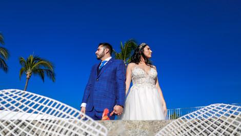 Nancy+Miguel · Wedding + Trash the Dress