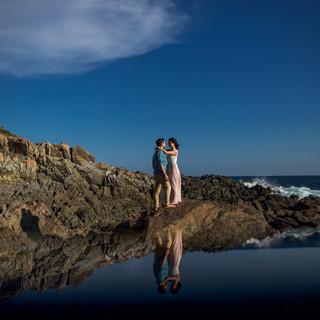 prewedding save the date en acapulco