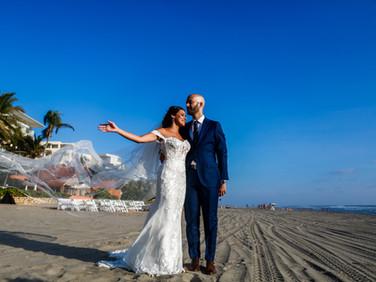 Fotografía de boda en Villa San Vicente en Acapulco