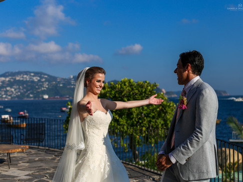 Fotografia de boda en Acapulco