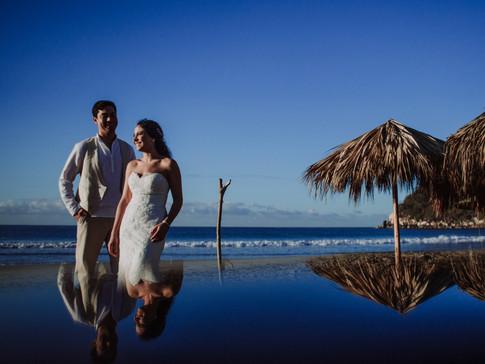 Fotografía Trash the Dress en Acapulco
