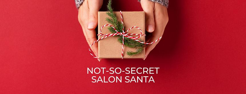 Not so secret salon santa